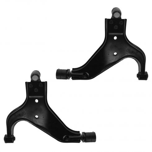 96-03 Pathfinder Infiniti QX4 Frnt Lwr Cntrl Arms With Ball Joints Pair