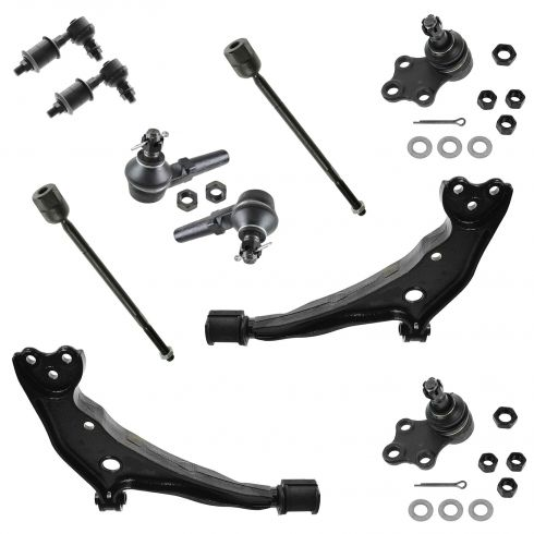 99-02 Mercury Villager, Nissan Quest Front Suspension Kit (10 Piece)