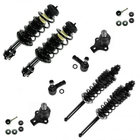 93-98 VW Golf, Jetta 2.0L Strut & Suspension Kit (10 Pieces)