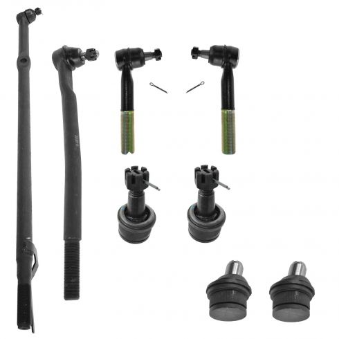 00-05 Ford Excursion; 99-04 F250SD, F350 2WD 8 Piece Front Suspension Kit