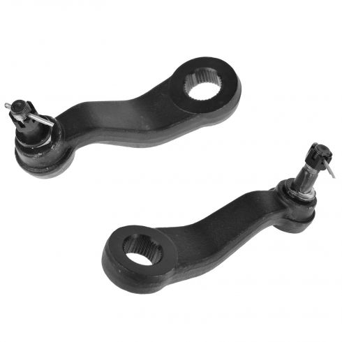 99-10 GM Full Size Pickup SUV Idler Arm & 4-Groove Pitman Arm PAIR