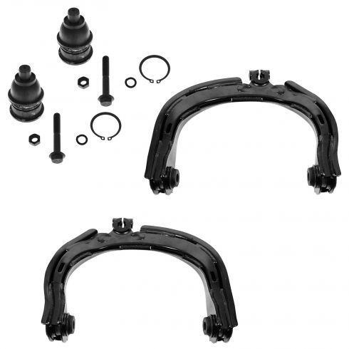 02-06 GM S10 Trailblazer, S15 Envoy, Rainier & Bravada Control Arm Front Upper & Ball Joint Set