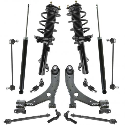 04-13 Mazda 3, 5 14Pc Steering & Suspension Kit