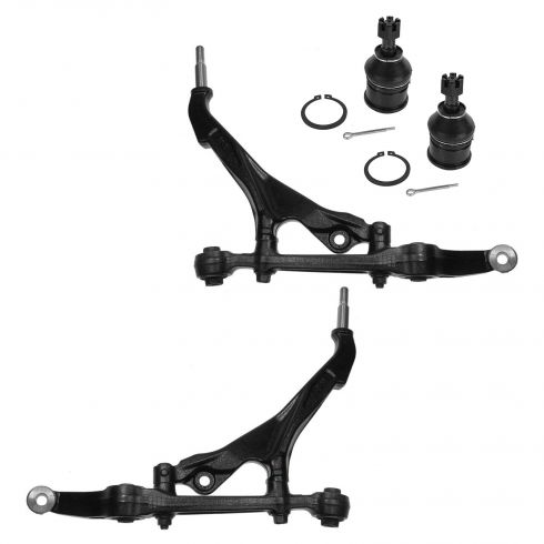 97-00 Acura EL; 94-01 Integra; 92-00 Honda Civic; 93-97 Del Sol Front Lower Ctrl Arm & Balljoint Kit