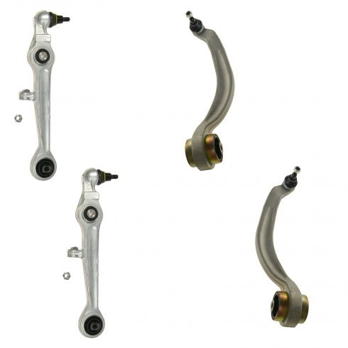 96-02  Audi; 98-03 VW Multifit Front Lower Forward and Rearward Control Arm Set of 4