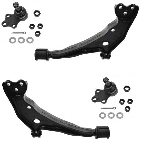 1999-02 Mercury Villager, Nissan Quest Front Lower Control Arm w/ Balljoint Kit (Set of 4)