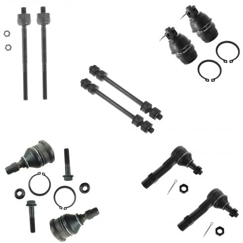 98-11 Ford Ranger, Mazda PU (w/2WD Coil Spring) Front 10 Piece Suspension Kit