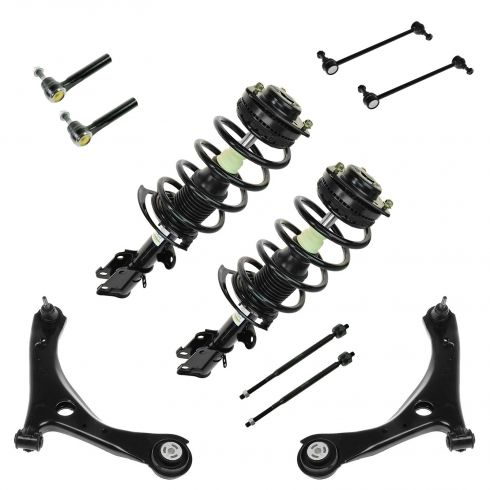 08-10 Chrysler T&C; Dodge Grand Caravan 10 Piece Front Suspension Kit