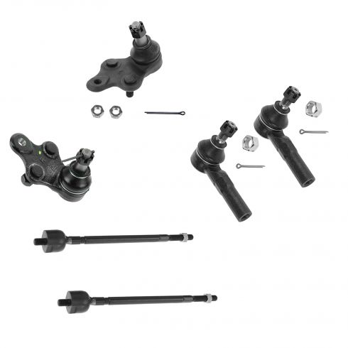 92-98 Toyota Paseo; 91-98 Tercel Front Steering & Suspension Kit (6 Piece)