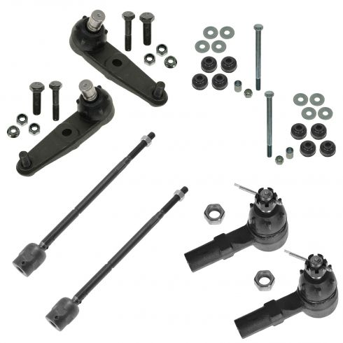 91-03 Ford Escort; 91-99 Mercury Tracer Front Steering & Suspension Kit (8 Piece)