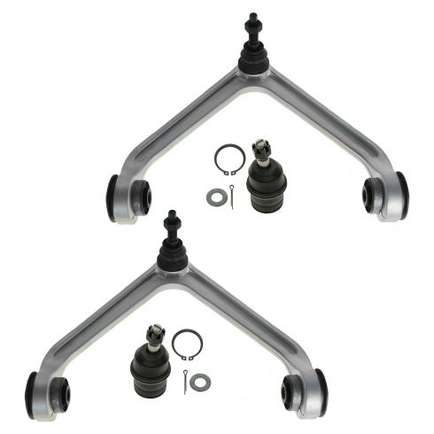 07-09 Chrysler Aspen; 04-09 Durango Front Upper Control Arm & Lower Ball Joint Set of 4
