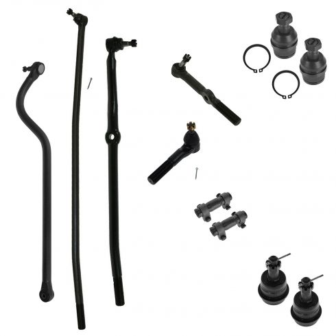 94-97 Dodge Ram 1500, 2500 4WD Front Steering & Suspension Kit (11 Piece)