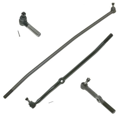 94-97 Dodge Ram 2500, 3500 w/4WD Front Tie Rod End Set of 4