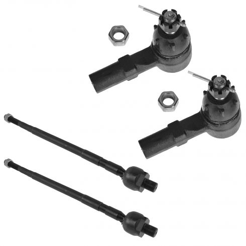 91-96 Escort; 91-96 Tracer Inner & Outer Tie Rod End Set of 4