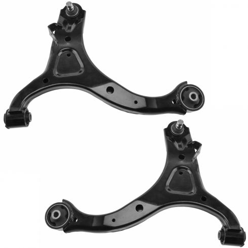 07-12 Hyundai Sante Fe; 11-13 Kia Sorento Front Lower Control Arm w/Balljoint & Bushings PAIR