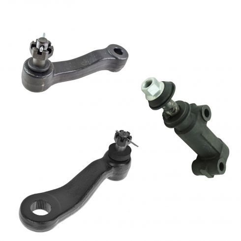 01-10 Silverado, Sierra, Suburban 2500, Yukon XL 2500 Pitman & Idler Arm Kit (Set of 3)