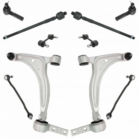 02-06 Nissan Altima; 04-08 Maxima Steering and Suspension Kit (10 piece)