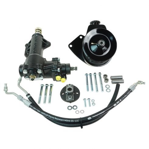 68-70 Ford Mustang w/289, 302, 351W SBF (w/o Z-Bar) Complete Manual to Power Steering Conversion Kit