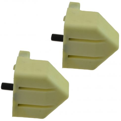 01-10 GM FS PU, SUV 1500HD-3500, Avalnch 2500; 03-09 Hum H2 Frt Lwr Cntrl Arm Bump Stop PAIR (GM)