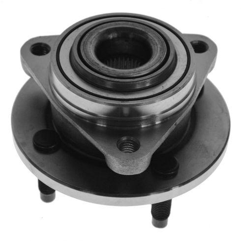 03-09 GM Mid Size FWD w/o ABS & w/4 Lug Front Hub & Bearing Assy LH = RH