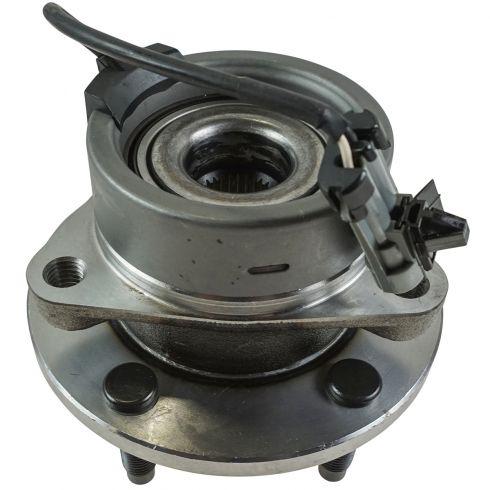 04-11 GM Mid Size w/ABS & w/5 Lug Front Hub & Bearing Assy LH = RH