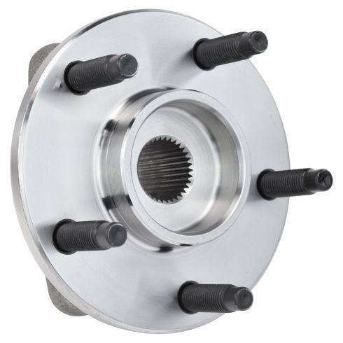 2006-07 Chevy HHR; 08 HHR w/Drum Brakes w/o ABS Front Wheel Hub & Bearing LF = RF