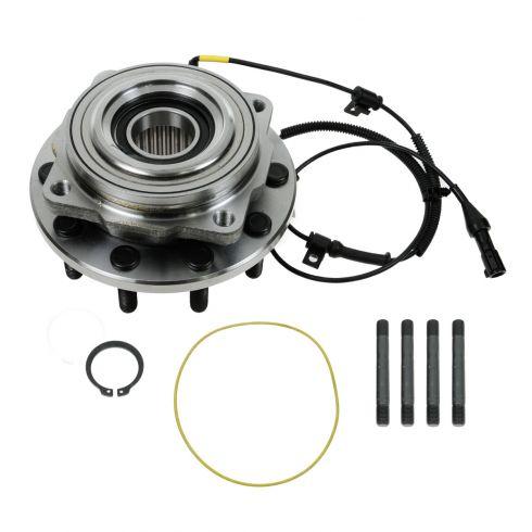 05-10 Ford F450SD, F550SD (w/4WD w/DRW) Front Wheel Bearing & Hub Assy LF = RF