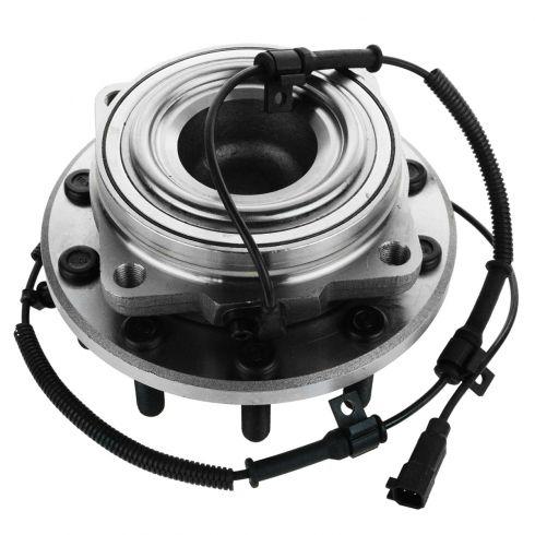 11-12 Ford F450SD, F550SD (w/2WD Mono Beam Axle) Front Wheel Bearing & Hub Assy LF = RF