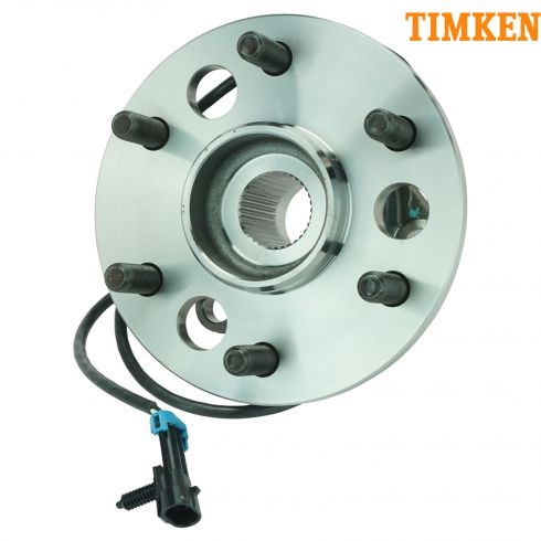 95-00 GM Full Size PU & SUV (exc Diesel) Front Wheel Hub & Bearing LF = RF (Timken)