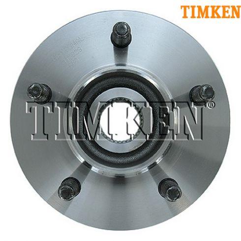 2000 Ford F150 w/14mm Studs; 01-04 F150 4WD w/o ABS Front Wheel Hub & Bearing LF = RF (Timken)