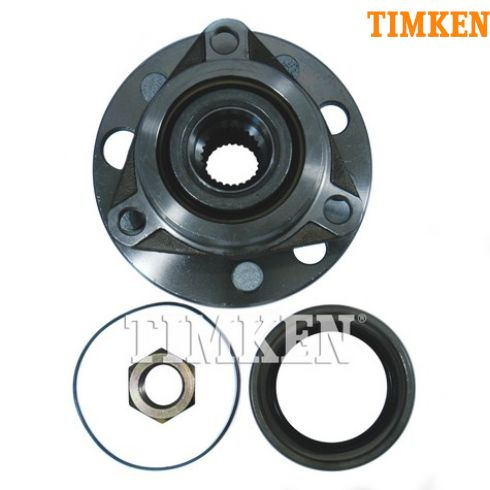 83-93 GM FWD Cars w/o ABS Front Hub & Bearing Assy (Timken)