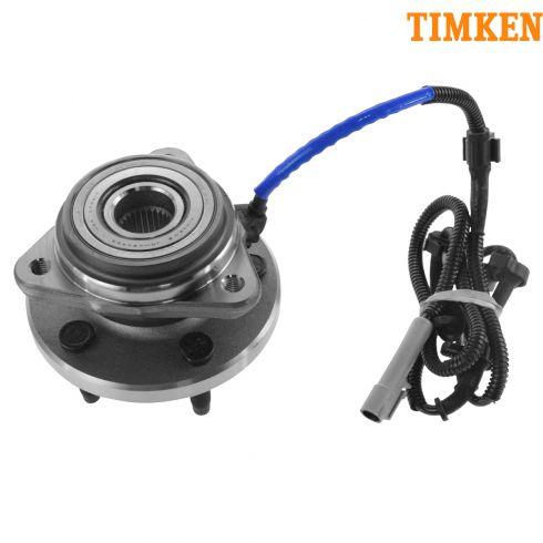 00-02 Ford Ranger 4x4 w/4 wheel ABS Frt Hub & Brng (Timken)