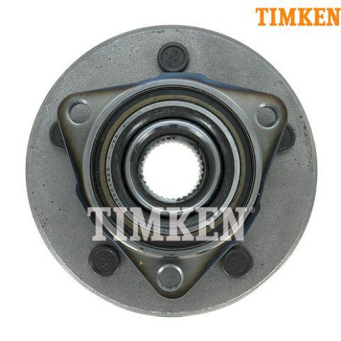 00-01 Dodge Ram 1500 4x4 w/RWAL Frt Hub & Bearing (Timken)