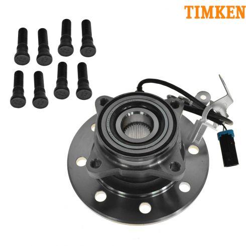 96-00 Chevy 1500 (w/Diesel), 2500 4x4 HD Front Inner Hub & Bearing RF (Timken)