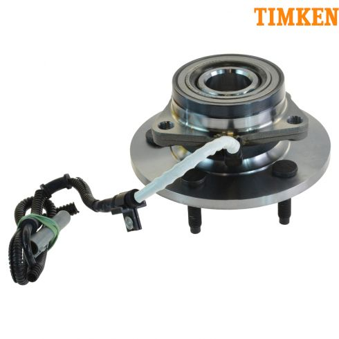 97-00 Ford F150 4wd w/AWAL Front Hub & Bearing Asy (Timken)