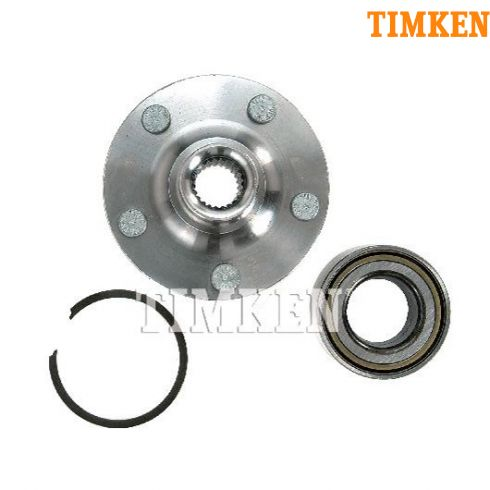 95-99 Dodge Neon 5 Stud Front Hub & Brg Repair Kit (Timken)