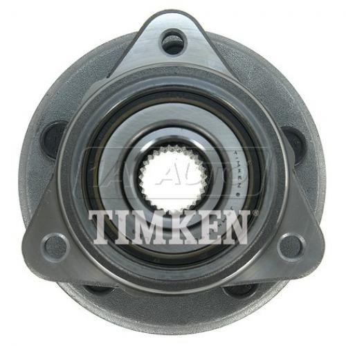 00 Ranger; 99-00 B3000 B4000 w/4WD, RW ABS, w/o pulse vacuum hubs Hub & Brng (Timken)