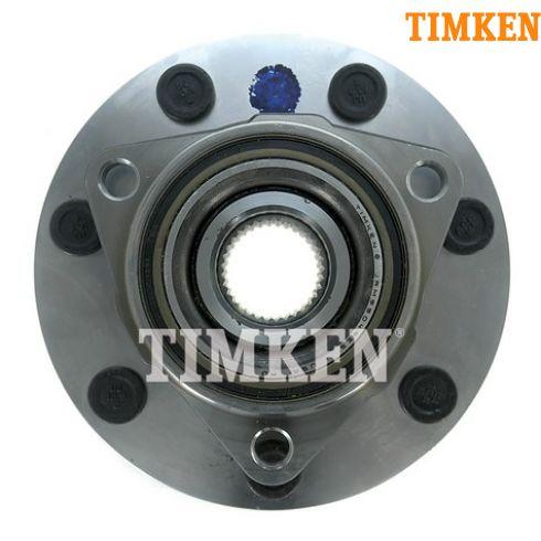 97-99 F250 LD; 00-04 F150 4x4 w/RWAL & 7 Stud Wheel Hub & Bearing LH = RH (Timken)