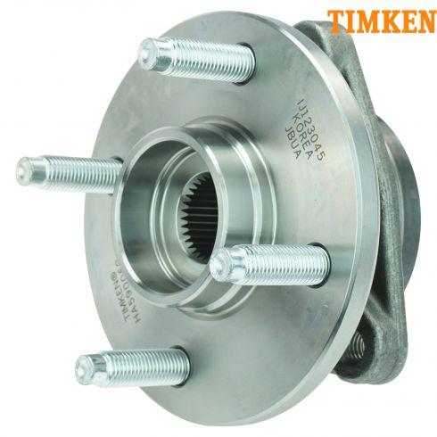 03-09 GM Mid Size FWD w/o ABS & w/4 Lug Front Hub & Bearing Assy LH = RH (Timken