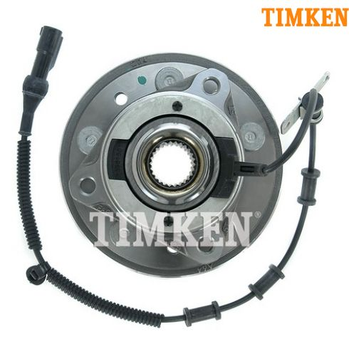 04-07 Ford Freestar, Mercury Monterey Front Wheel Bearing & Hub LF (Timken)