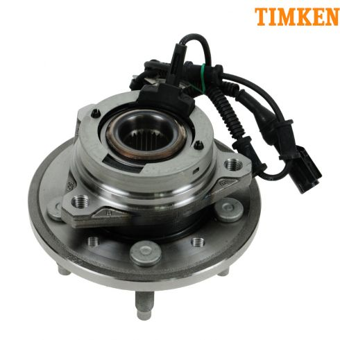 04-07 Ford Freestar, Mercury Monterey Front Wheel Bearing & Hub RF (Timken)