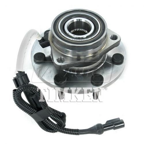 00-04 Ford F150; 97-99 F250 4WD (7 Lug) w/ABS Front Wheel Bearing & Hub LF = RF (Timken)