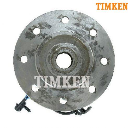 95 Chevy 1500 (w/Diesel), 2500 4x4 HD Front Hub & Wheel Bearing Assy LF (Timken)