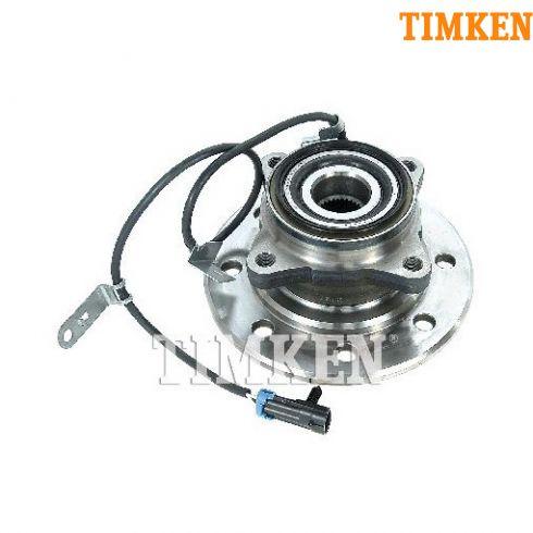 95 Chevy 1500 (w/Diesel), 2500 4x4 HD Front Hub & Wheel Bearing Assy RF (Timken)