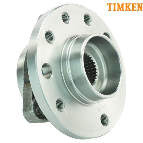 02-09 Saab 9-5; 10 9-5 (w/4th VIN E) Front Wheel Bearing & Hub Assy LF = RF (Timken)