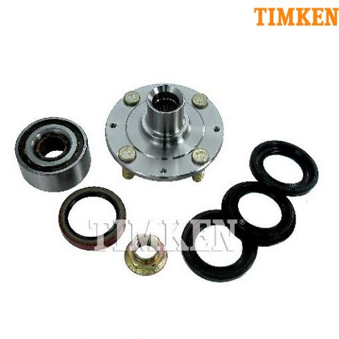 82-83 Honda Accord; 83 Prelude Front Wheel Bearing & Hub Kit Assy LF = RF (Timken)