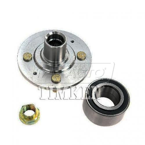 88-89 Accord (w/EFI) Front Wheel Bearing & Hub Kit Assy LF = RF (Timken)