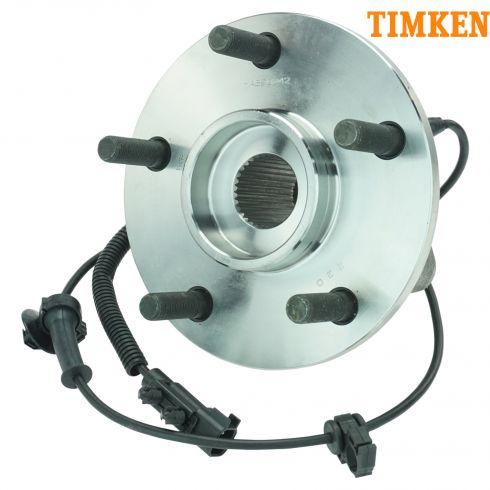 07-12 Jeep Wrangler Front Wheel Bearing & Hub Assy LF = RF  (Timken)