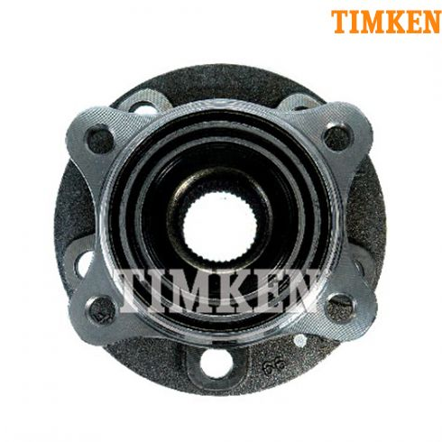 07 (from VIN 367134)-13 Volvo XC90 Wheel Bearing & Hub FRONT LF = RF (40 Spline) (Timken)