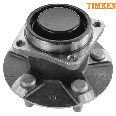 Timken 00-07 Toyota Pontiac FWD w/o ABS Rear Hub & Brng